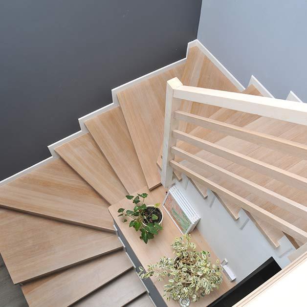 escalier bois sur mesure à Montpellier